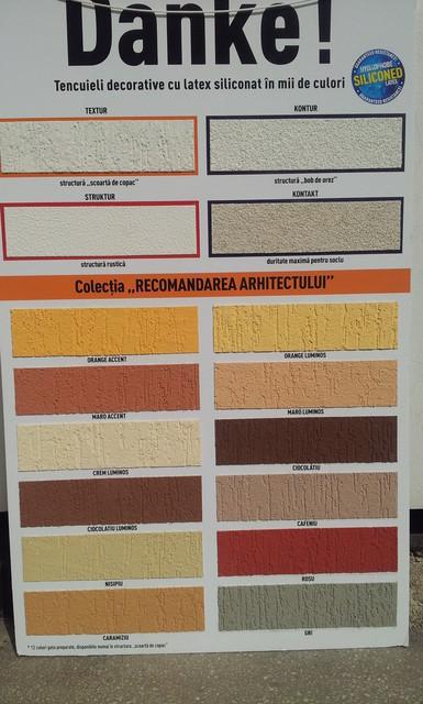 Culori De Tencuiala Decorativa.Danke Textur Silikon Gri