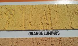 Danke! Textur Silikon Orange Luminos