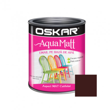 OSKAR Aqua Matt Brun Puternic, 0.6 l