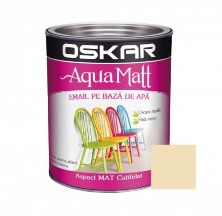 OSKAR Aqua Matt Crem Elegant, 0.6 l