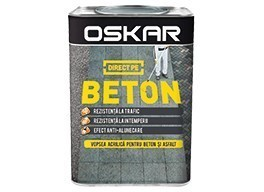 OSKAR DIRECT PE BETON - GALBEN 0,75 l