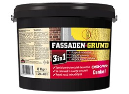 Fassaden Grund Orange Luminos 8 Kg