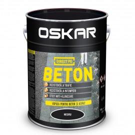 OSKAR DIRECT PE BETON - Negru 10 L