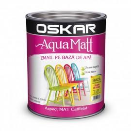 OSKAR Aqua Matt TRANSPARENT, baza de colorare, 2.5 l
