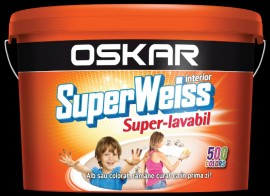 Poze Oskar Superweiss Super-lavabil 15 l