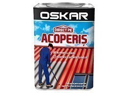 OSKAR direct pe ACOPERIS 2.5 l - ROSU INCHIS