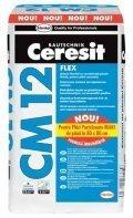 Adeziv flexibil cu consistenta plastic fluida, pentru placi ceramice - CM 12