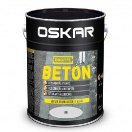 OSKAR DIRECT PE BETON - Gri 10 L