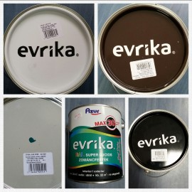 Evrika Email Uscare Super Rapida / MARO CIOCOLATIU 2.5 l + 1 L Diluant S506