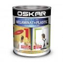 OSKAR Vopsea Direct pe melaminat si plastic, interior / exterior, ROSU SANGRIA, 0.6 L
