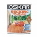 Lac Oskar Decking / Terase Lemn , Teak 2.5 l