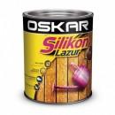 Oskar SILIKON Lazur Bait Teak 0.75 l