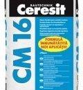 Adeziv flexibil pentru gresie, faianta si piatra naturala - CM 16
