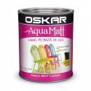OSKAR Aqua Matt NEGRU minimalist, 0.6 l