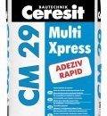 Adeziv flexibil rapid pentru placari ceramice si din piatra naturala – CM 29 Multi Xpress