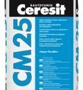 Adeziv flexibil pentru placari ceramice si din piatra naturala in medii permanent umede - CM 25