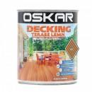 Lac Oskar Decking / Terase Lemn , Nuc, 0.75 l