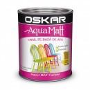 OSKAR Aqua Matt OCRU unicat, 0.6 l