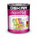 OSKAR Aqua Matt Rosu pasional, 2.5 l