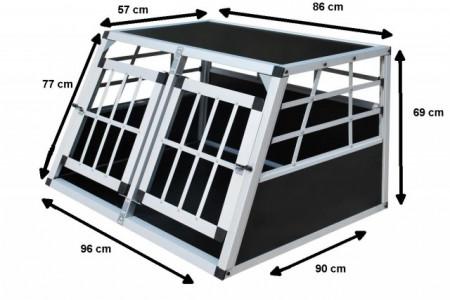Cusca transport caini aluminiu