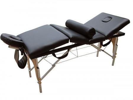 Pat de masaj 4 sectiuni pliabil aluminiu