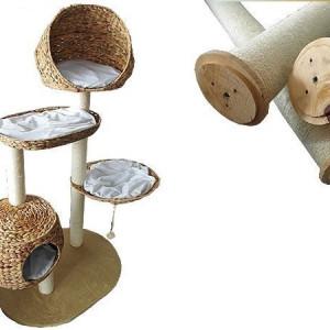 Centru de joaca pisici -banana leaf XXL