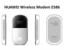 Router/Modem 3G HUAWEI E586 HSPA+ WiFi 21Mbps decodat Airnet 3.0