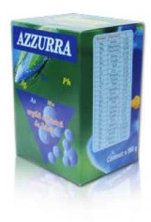 AZZURRA -Argila Albastra, BLUE CLAY, ARGILE BLEUE,BLAU TON - AAUR 02