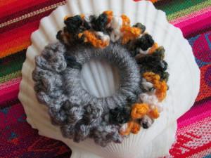 Elastic crochet pentru par