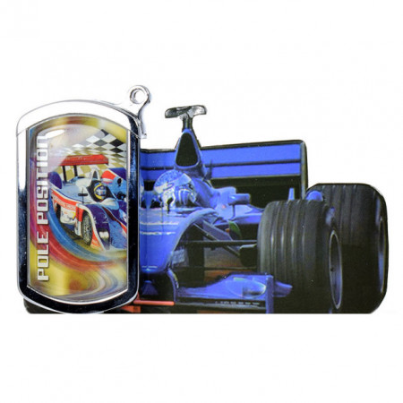Bricheta Race, metalica, piezoelectrica, reincarcabila cu gaz butan, atasabila la portchei