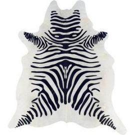 Covor piele vaca model zebra
