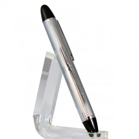 Roller Jean Louis Scherrer, metalic, argintiu, mina de 0.5 cm