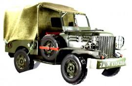 Macheta metalica masina de teren Jeep militar