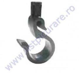 Carlig sustinere tub 20 mm cu suport pentru miniaspersor sau sprayer