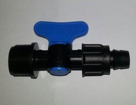 Minirobinet 3/4'' Fe x banda picurare