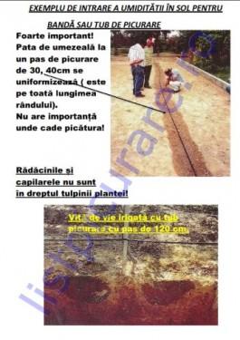 KIT PICURARE MAX. 150MP CU ROBINET PE FIECARE RAND