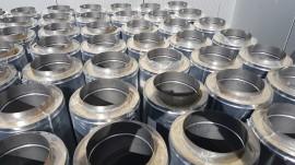 Poze Burlan, tub inox DP(izolat) 1000mm. Alege diametru Ø mm!