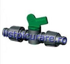 Minirobinet de linie banda - banda Ø 17 sau 16 mm