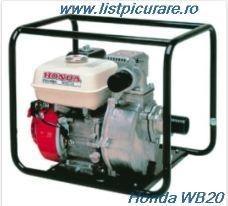Poze Motopompa Honda ®  WB20