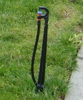 Suport, tija miniaspersor infigere in pamant, L 40 cm