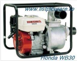 Poze Motopompa Honda ®  WB30