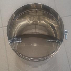 Clapeta reglare tiraj inox Ø 150 SP