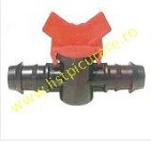 Minirobinet linie tub cilindric 16x16mm