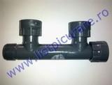 "Distribuitor(manifold) PVC 2+1 căi 1"""