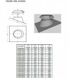 Trecere prin acoperis SP(neizolată). Alege diametru Ø mm!