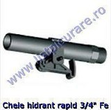 Cheie hidrant rapid 3/4'' Fe