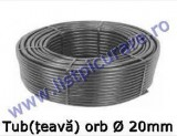 Tub orb, țeavă  Ø 20 mm, grosime perete 1,35mm