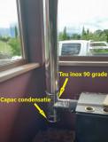 Capac condens neizolat(SP). Alege diametru Ø mm!