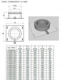 Capac condensatie baza DP. Alege diametru Ø mm!