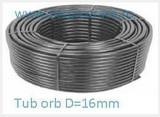 Tub orb Ø16, grosime perete 1,15 mm, colac 300m